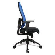 TOPSTAR Lady Sitness Deluxe modro/černá - Kancelářská židle