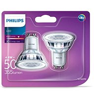 Philips LED Classic 4.6-50 W, GU10, 2700 K, Set 2 ks - LED žárovka