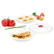 TESCOMA Miska na omelety a sázená vejce PURITY MicroWave - Nádobí do mikrovlnné trouby