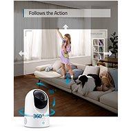 Eufy Indoor Cam 2K Pan & Tilt White - IP kamera