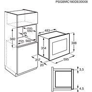 ELECTROLUX 600 FLEX Grill LMS4253TMX - Mikrovlnná trouba