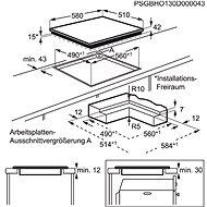 AEG Mastery HK654070IB - Varná deska