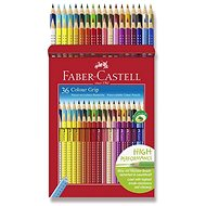 Faber-Castell Grip 2001, 36 barev - Pastelky