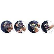 Mobilly Sportovní pouzdro na ruku zelené - Pouzdro na mobil