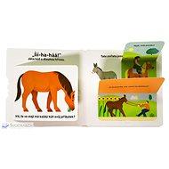 Zvířata na farmě Rozpohybovaná kniha - Kniha