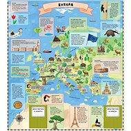 Atlas světa pro děti: Objevujte svět v sedmi rozkládacích mapách - Kniha