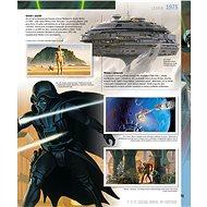 Star Wars Rok za rokem Obrazová kronika - Kniha