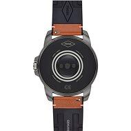 Fossil FTW4055 Gen 5E 44mm Hnědá kůže - Chytré hodinky