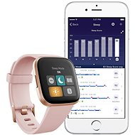 Fitbit Versa 2 (NFC) - Petal/Copper Rose - Chytré hodinky