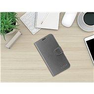 FIXED FIT Shine pro Samsung Galaxy A20e antracitové - Pouzdro na mobil