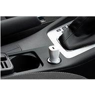 FIXED Car s USB-C výstupem a podporou PD 18W bílá - Nabíječka do auta