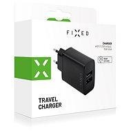 FIXED Smart Rapid Charge 15W s 2xUSB výstupem černá - Nabíječka do sítě