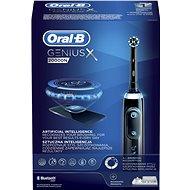 Oral-B Genius X Black s umělou inteligencí - Elektrický zubní kartáček