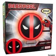 Deadpool Logo - lampička - Stolní lampa