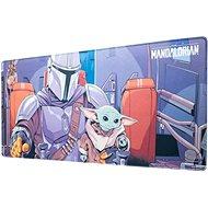 Star Wars -  The Mandalorian - Herní podložka na stůl - Podložka pod myš a klávesnici