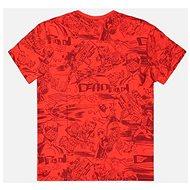 Deadpool - All Over - tričko XXL - Tričko