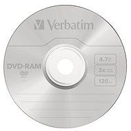 VERBATIM DVD-RAM 4.7GB, 3x, jewel case 5 ks - Média