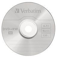 VERBATIM DVD+RW SERL 4.7GB, 4x, jewel case 5 ks - Média