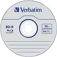 VERBATIM BD-R SL 25GB, 6x, jewel case 5 ks - Média