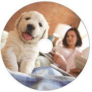 VERBATIM CD-R DataLifePlus 700MB, 52x, white thermal printable, spindle 50 ks - Média