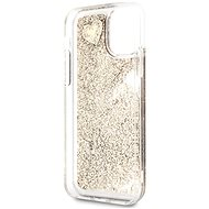 Guess Glitter Hearts pro iPhone 11 Gold (EU Blister) - Kryt na mobil