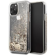 Guess Glitter Hearts pro iPhone 11 Pro Max Gold (EU Blister) - Kryt na mobil