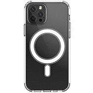 Hishell Magsafe Magnetic TPU pro iPhone 12 Pro Max čirý - Kryt na mobil