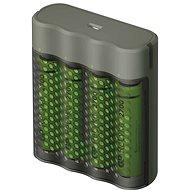 GP Speed M451 + 4× AA ReCyko 2700 - Nabíječka baterií