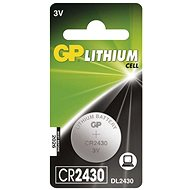 GP Lithiová knoflíková baterie GP CR2430 - Knoflíková baterie