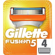 GILLETTE Fusion 4 ks - Pánské náhradní hlavice