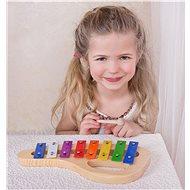 Bino obloukový xylofon  - Hudební hračka