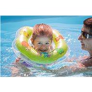 Plavací nákrčník Flipper zelený - Nafukovací hračka