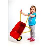 Plechové kolečko Yupee červené - Dětské zahradní kolečko