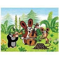 Dřevěné kostky Kubus - Krteček a přátelé - Obrázkové kostky