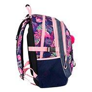 BAAGL Školní batoh Flamingo - Školní batoh