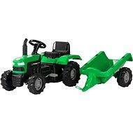 Šlapací traktor s vozíkem - Šlapací traktor