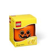 LEGO úložná hlava (velikost S) - dýně - Úložný box