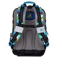 Klučičí školní batoh pro prvňáčky Bagmaster Alfa 7 C - Školní batoh