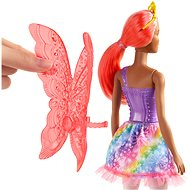 Barbie Kouzelná víla s oranžovými vlasy - Panenka