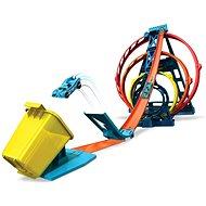 Hot Wheels Track builder trojitá smyčka - Příslušenství pro autodráhu