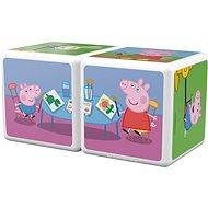 Magicube Peppa Pig A day Peppa - Magnetická stavebnice