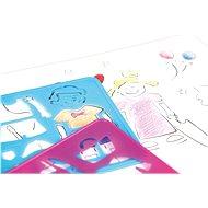 Kreslící šablony(figurky, zábava) - Kreslící tabulka