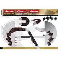 Carrera EVO/D132/D124 - 20517 Křížení dráhy (2ks) - Příslušenství k autodráze