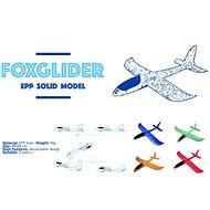 FOXGLIDER dětské házecí letadlo - házedlo červené 48cm  - Házedlo