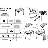 Stolní kulečník - Společenská hra