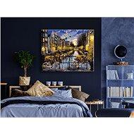 Malování podle čísel - Kola v Amsterdamu 80x100 cm vypnuté plátno na rám - Malování podle čísel