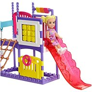 Barbie chůva na hřišti herní set - Panenka