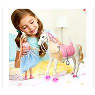 Barbie princess adventure princezna a kůň se světly a zvuky - Panenka