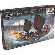 Mega Bloks Hra o trůny Targaryenská loď - Stavebnice