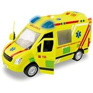 MaDe Ambulance, na setrvačník, s reálným hlasem posádky, 21cm - Auto
